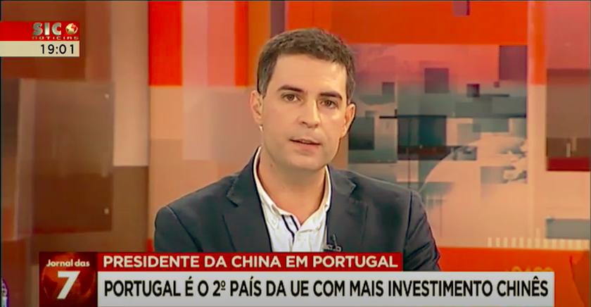 Paulo Duarte na Sic Notícias analisa a visita de Xi Jinping a Portugal e o futuro das relações de Portugal com a China e com o Ocidente
