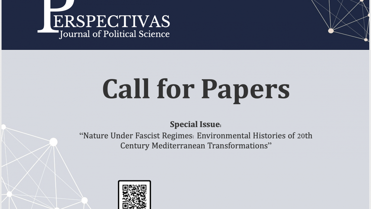 "Call For Papers PJPS: ""Nature Under Fascist Regimes"""