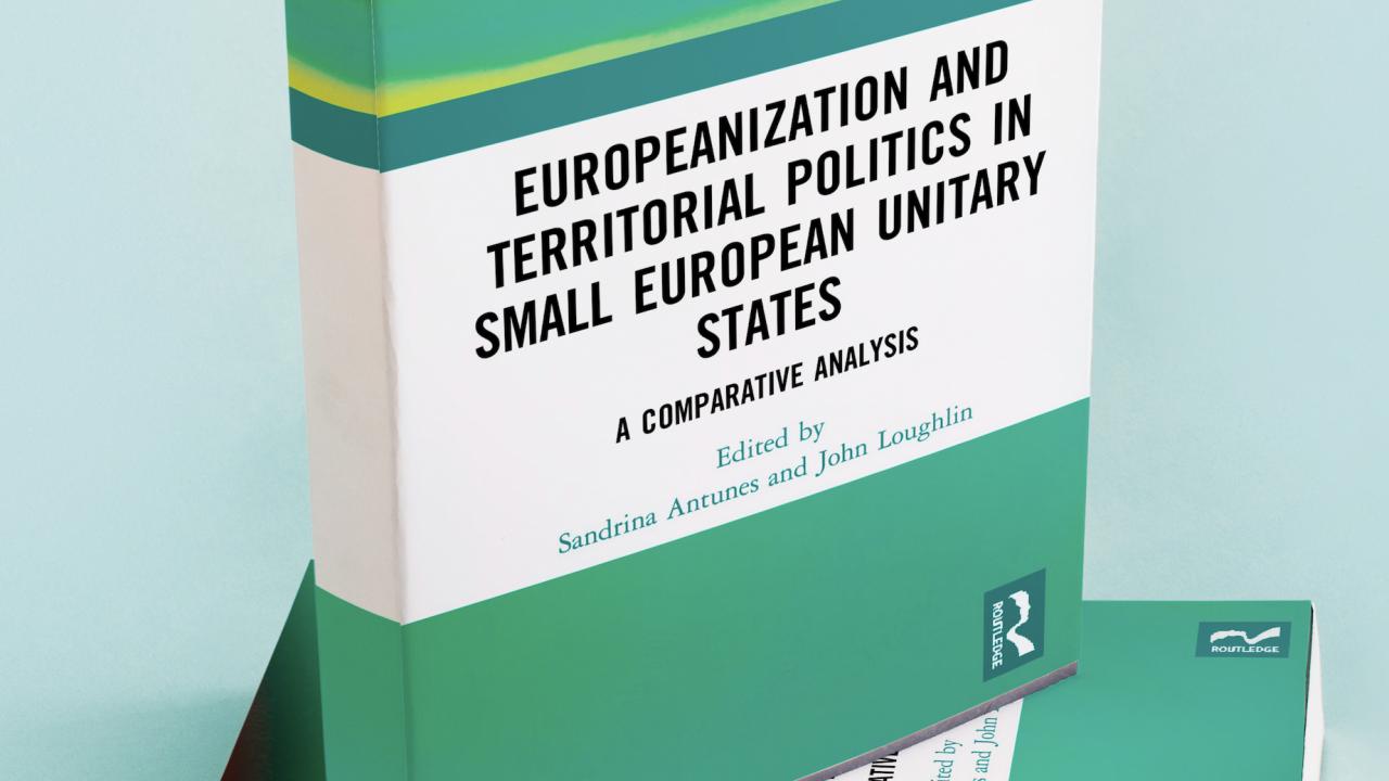 "Livro ""Europeanization and Territorial Politics in Small European Unitary States"""
