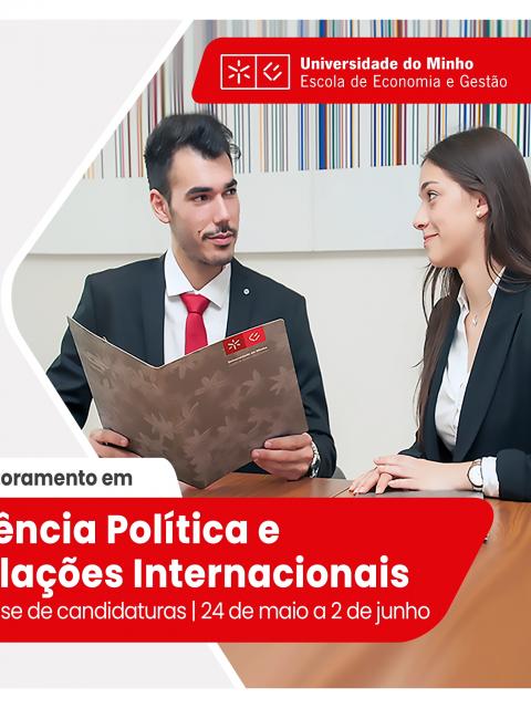 Candidaturas Abertas: Doutoramento em Ciência Política e Relações Internacionais