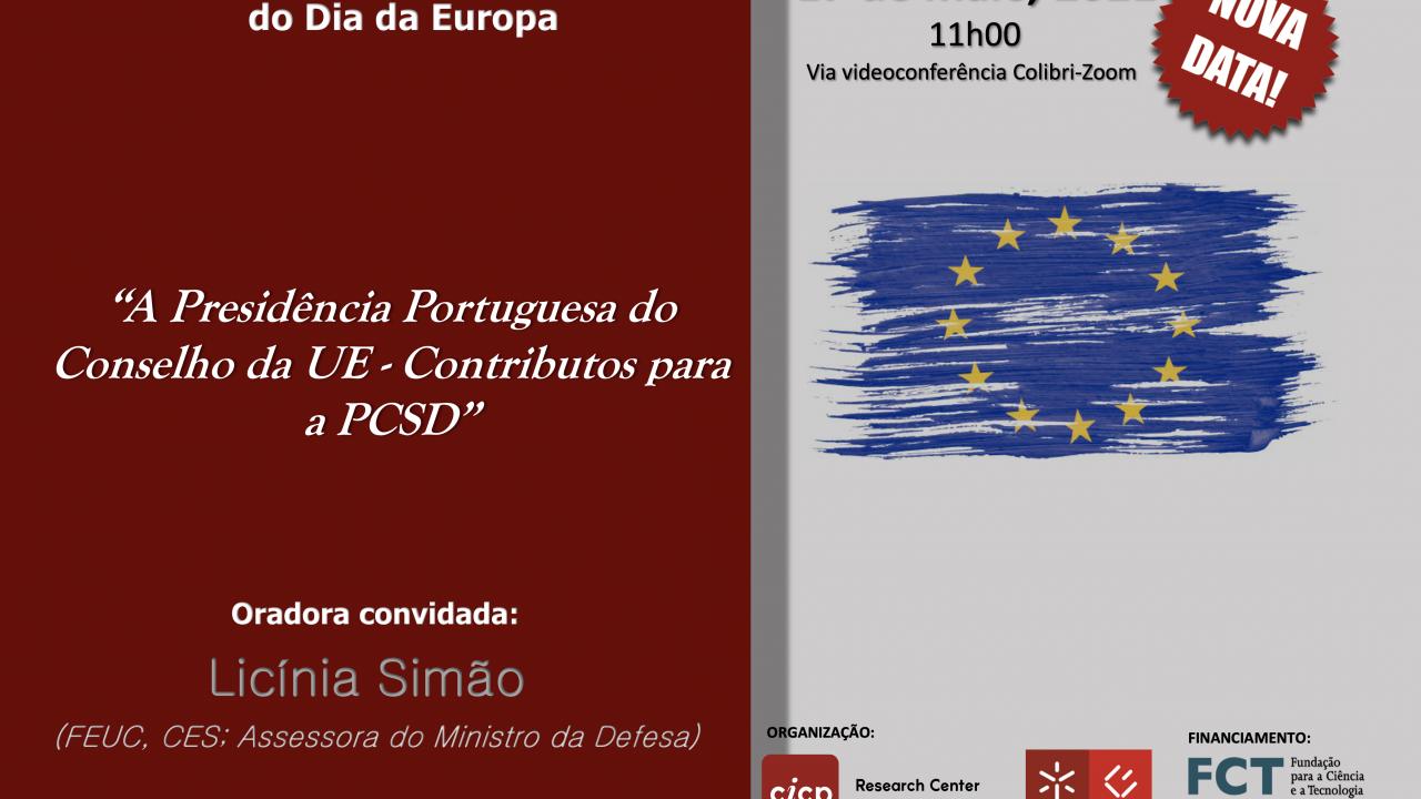 Seminário CICP Comemorativo do Dia da Europa