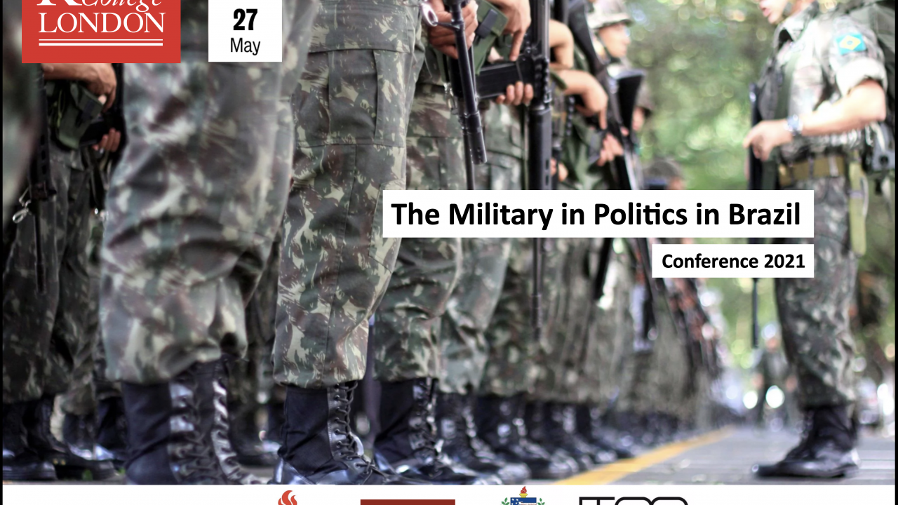 "Conferência King's College London: ""The Military in Politics in Brazil"""