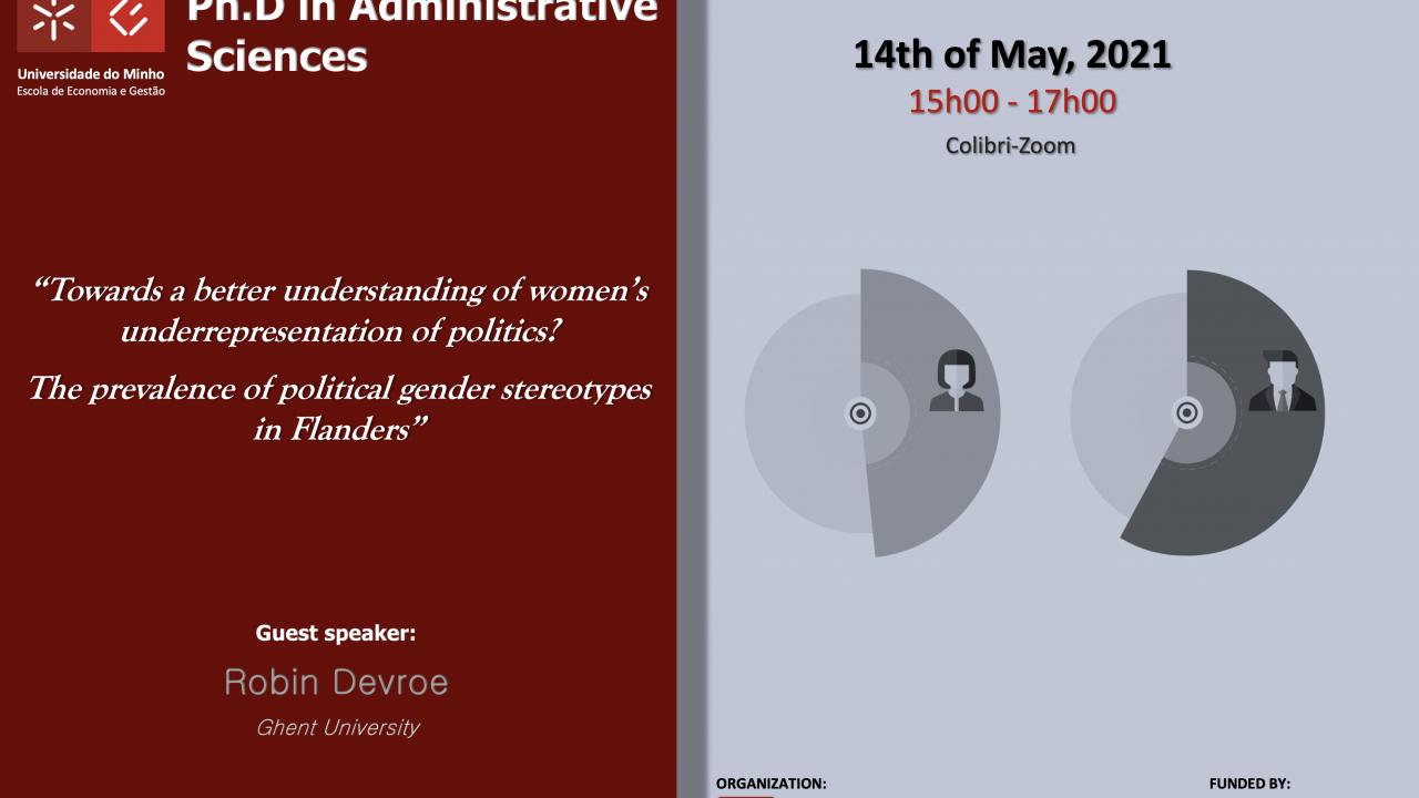 "Seminário Temático ""Towards a better understanding of women's underrepresentation of politics?"""
