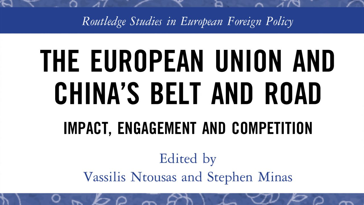 """Capítulo de Livro """"China and the Belt and Road Initiative in Europe: The Case of Portugal"""""""